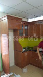 Tủ bếp Sồi Nga SNR38